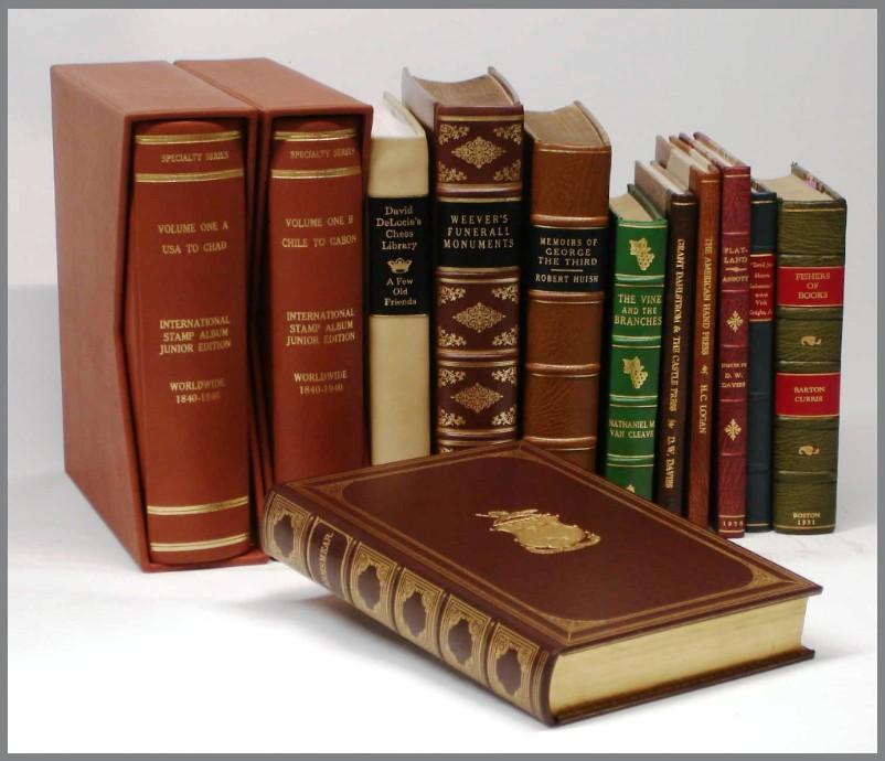 Leather Binding - London Bookbinding